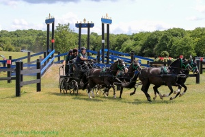 Rowena Moyse, Marathon, Pony Teams, Catton Park Summer National