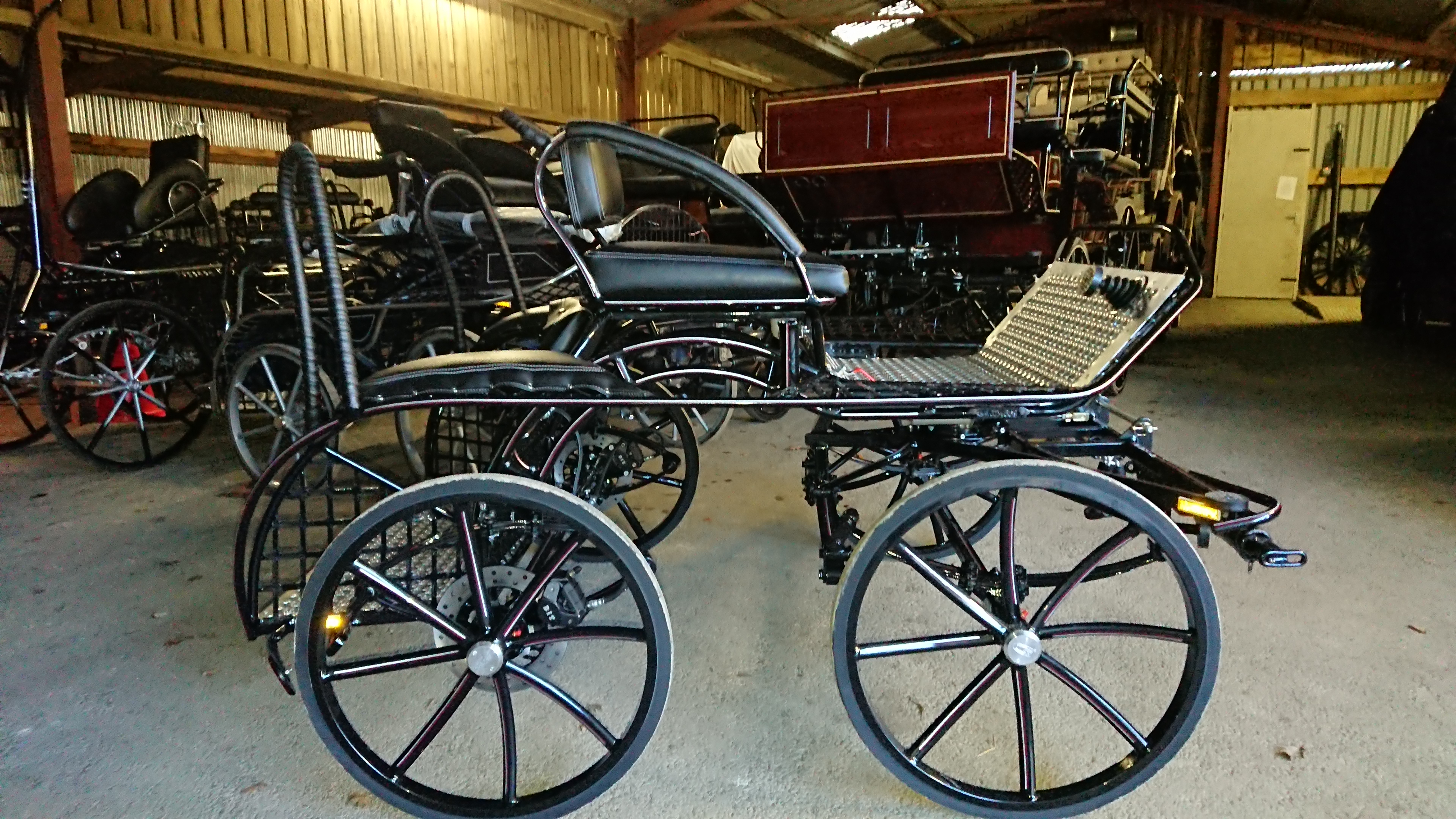 We are now an agent for Hartland carriages - Rowena Moyse